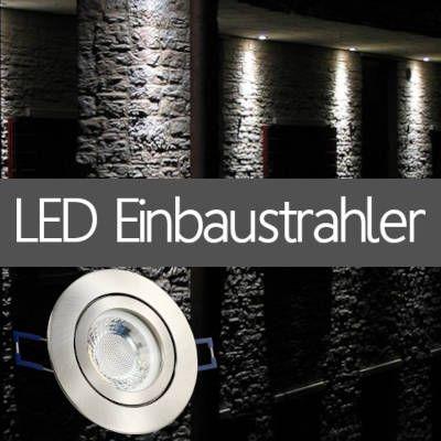 LED Einbaustrahler IP44 für Außenanlagen Haus Vordach Fassade